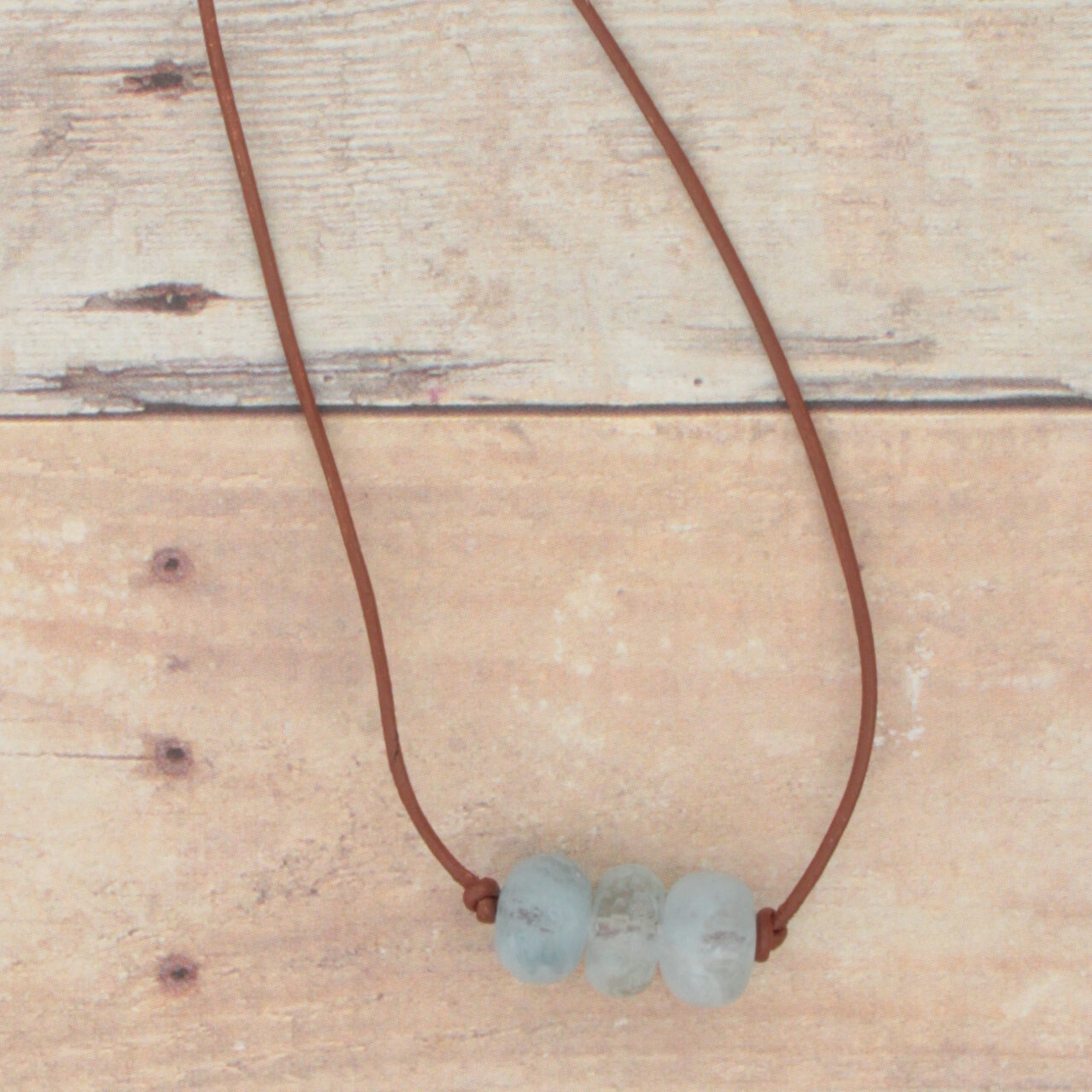 Aquamarine Whisper Necklace
