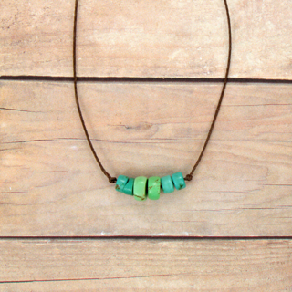 Turquoise Whisper Necklace