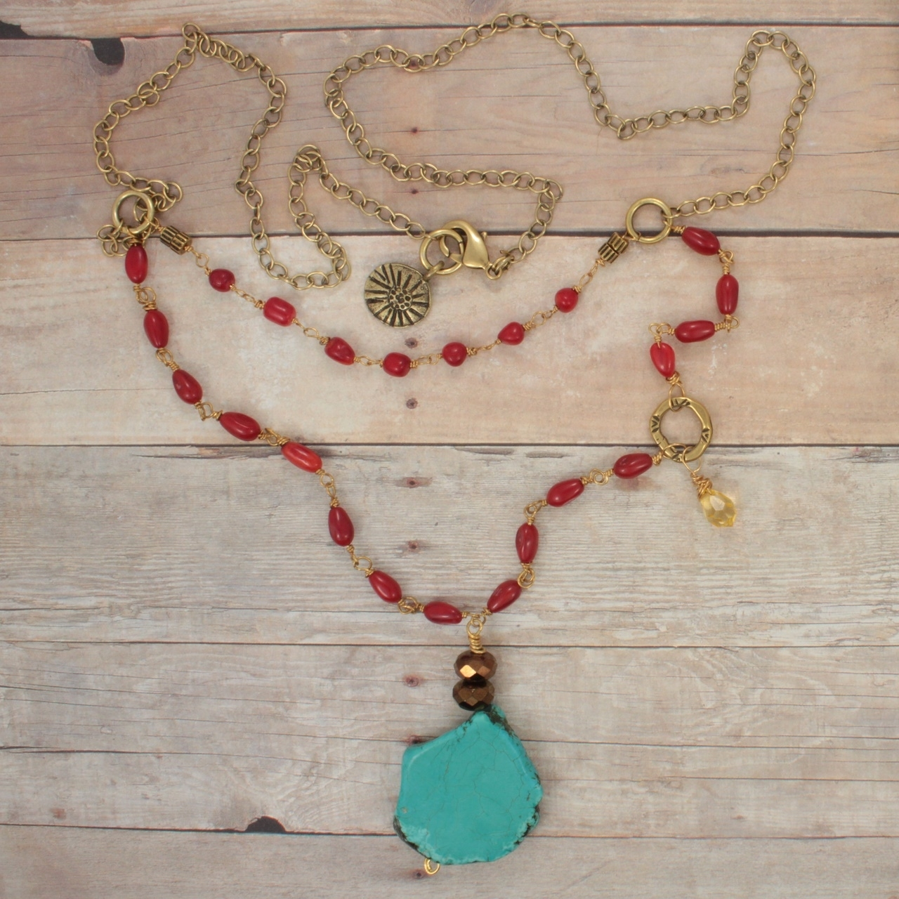 Turquoise Island Get-Away Necklace