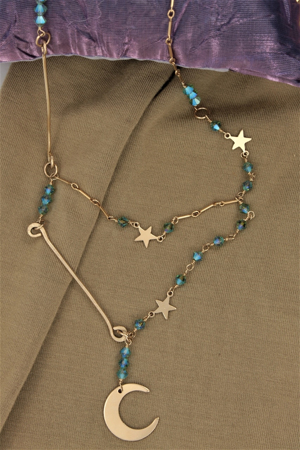 Custom Celestial Necklace