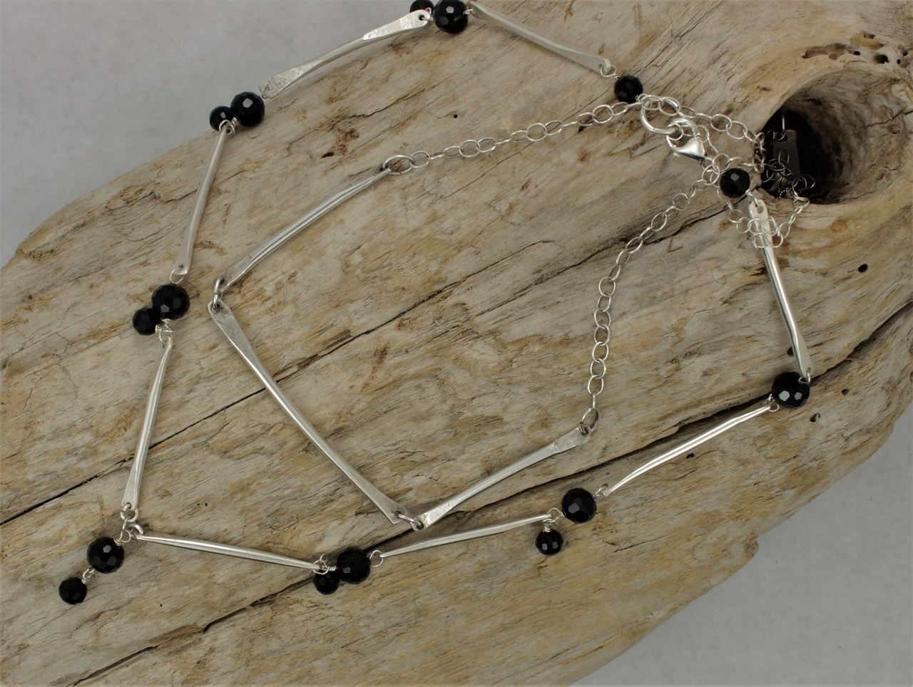 Custom sterling and Onyx