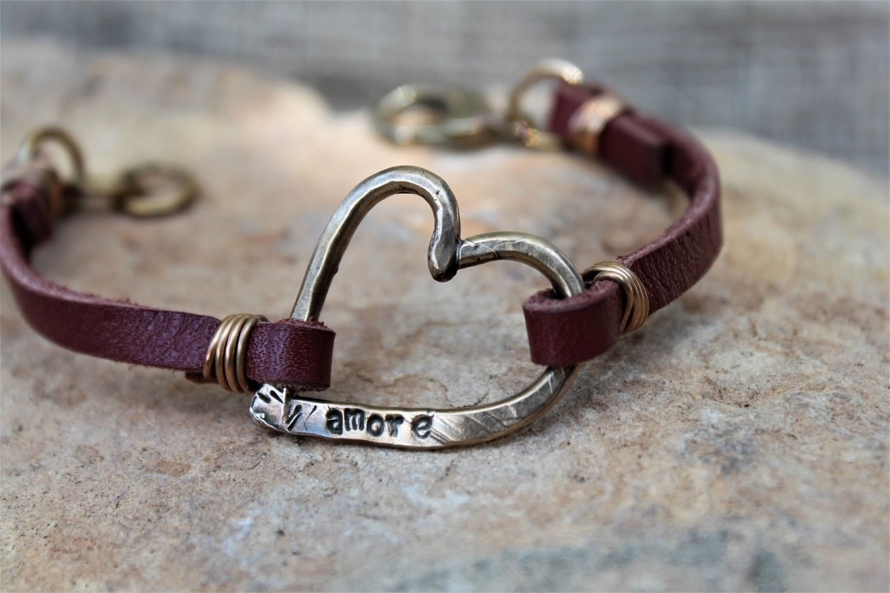 That's Amore Leather Bracelet