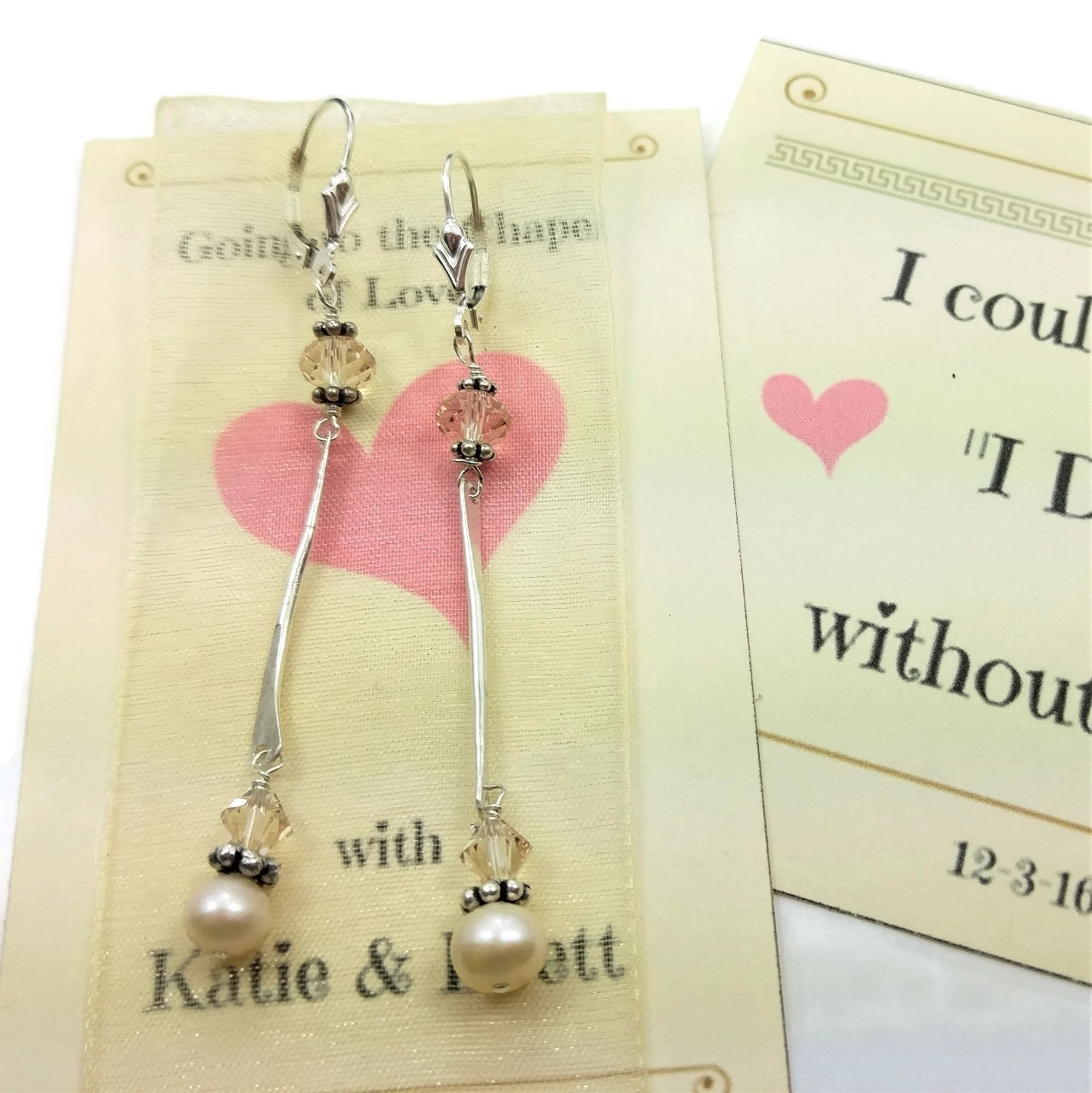 Earrings for 8 Bridesmaids