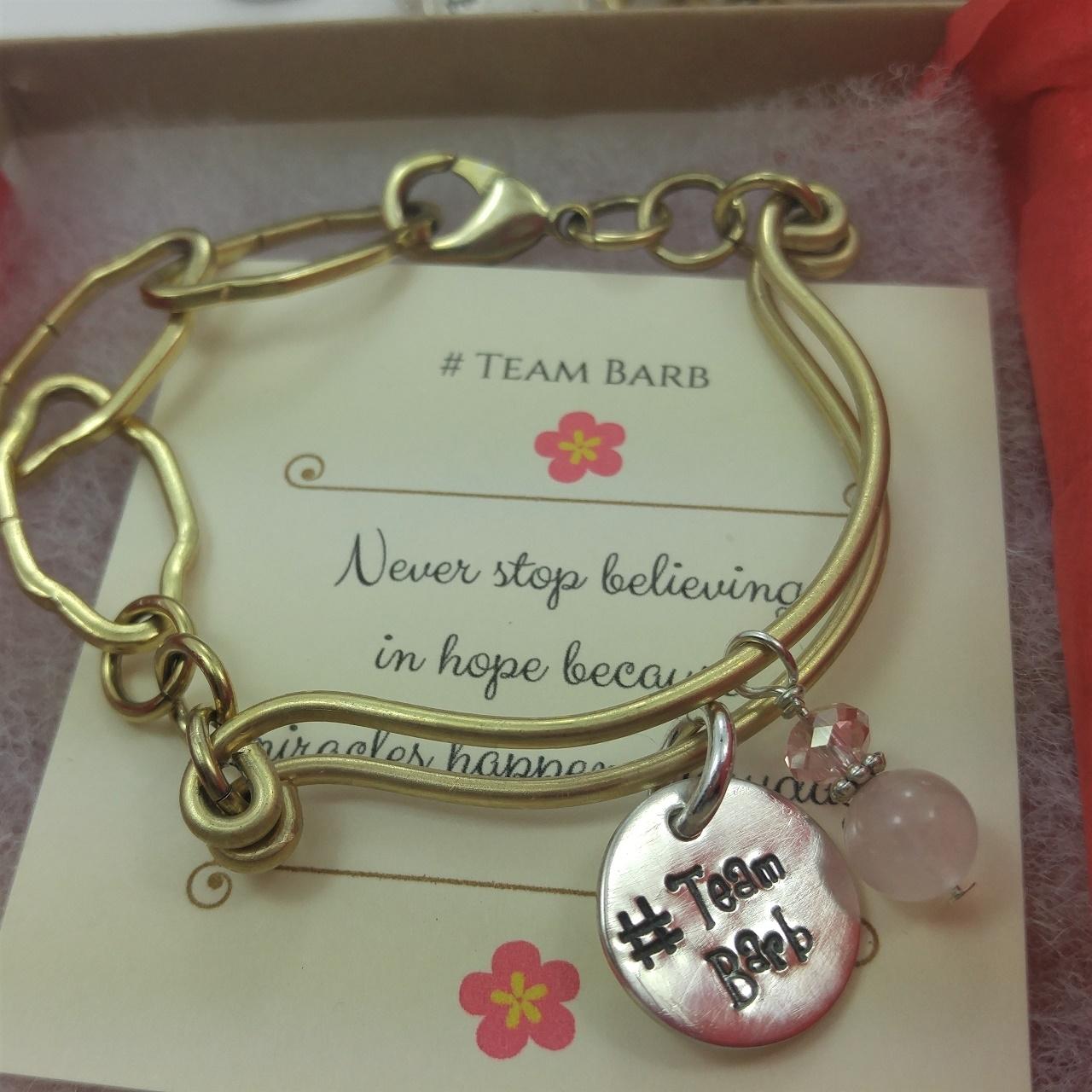 Group Bracelets for #Team Barb