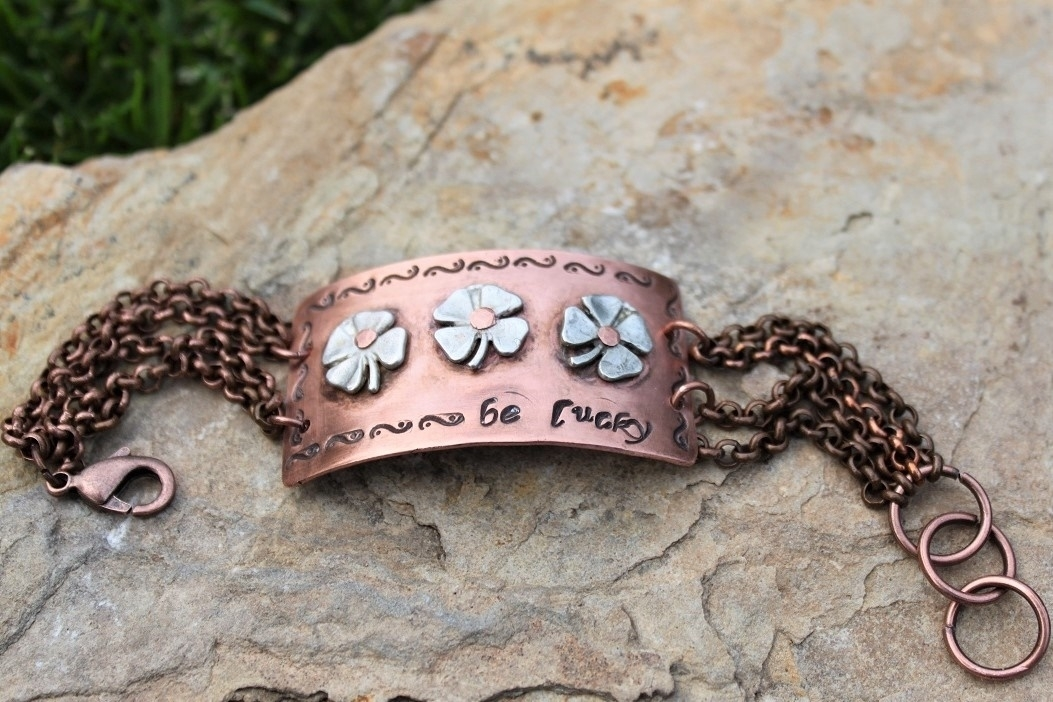 Be Lucky Bracelet - Sterling & Copper