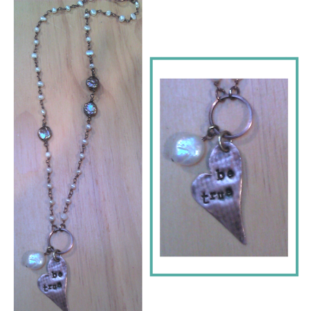 Be True Pearl Necklace