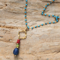 Delicate Earthy Gemstone Necklace