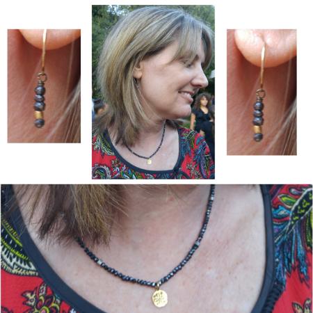 Spinel Necklace Set