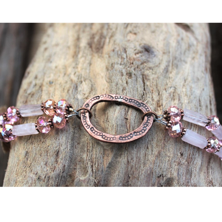 Copper Circle Bracelet