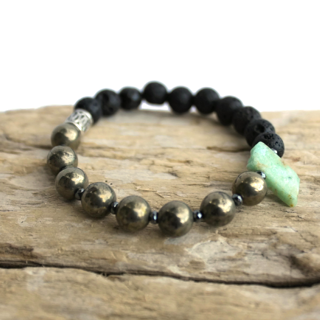 one-gemstone-lava-diffuser-bracelet-wood background