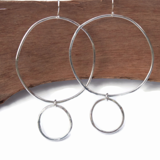 Hoop de Hoop  Sterling Earrings