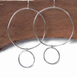 Hoop de Hoop  Sterling Earrings