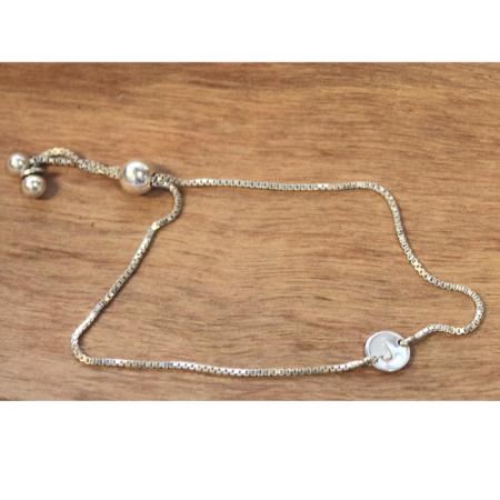 Sterling Initial Bracelet