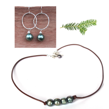 Everyday Pearl Necklace Set