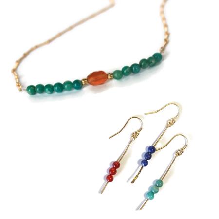Carnelian Necklace Set