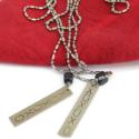 XOX Tag Necklace