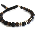 men's-brown-wood-black-lava-bead-leather-bracelet-on-white-background