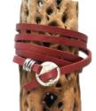 Mens-multi-wrap-cordida-red-leather-bracelet-wrapped-on-cactus-skeleton