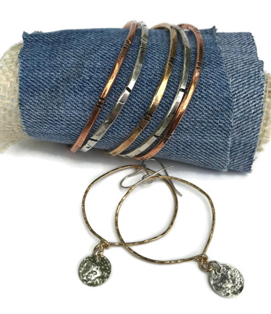 Mixed Metal Cuffs for Everyday Casual