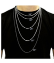 necklace size guide for men